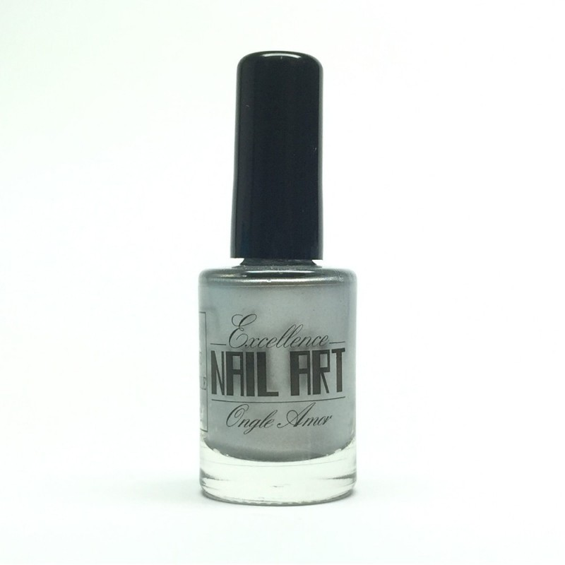 Vernis Stamping Argent Chrome - Excellence Nail Art
