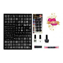 Kit Stamping Professionel XL2 ONGLE AMOR