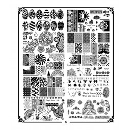Kit Stamping Professionel XL5 ONGLE AMOR