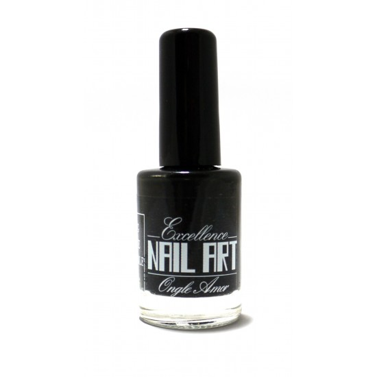 Vernis Stamping Noir  - Excellence Nail Art