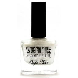 Vernis Stamping Blanc Nacré