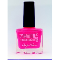 Vernis Stamping Rose Fluo - ONGLE AMOR