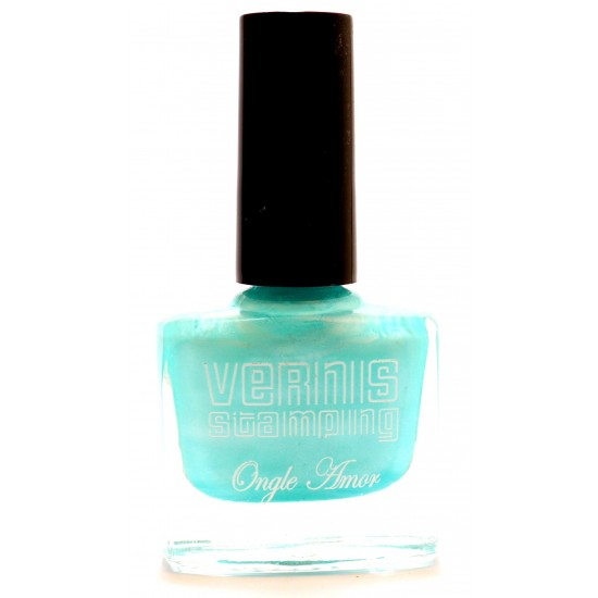 Vernis Stamping Vert Bubble
