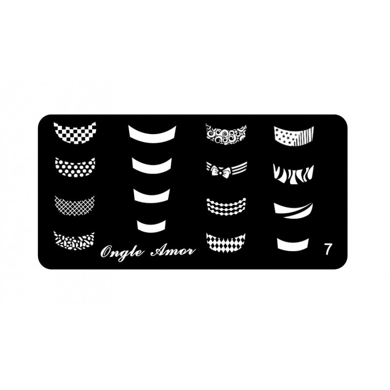 Plaque stamping 7 | ONGLE AMOR