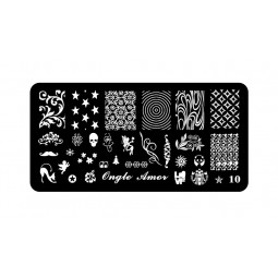 Plaque stamping 10 | ONGLE AMOR