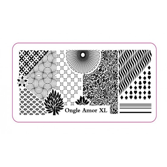 Plaque stamping XL | ONGLE AMOR