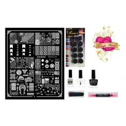 Kit Stamping Professionel XL6 ONGLE AMOR