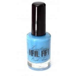 Vernis Stamping bleu ciel  - Excellence Nail Art
