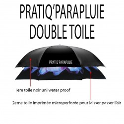 PARAPLUIE INVERSE Feu d'artifice -PRATIQ' PARAPLUIE