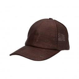 casquette en liège marron