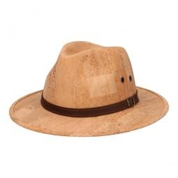 chapeau en liège beige